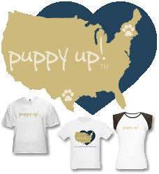 Puppy Up! Apparel and Gifts Help Support Cancer Research