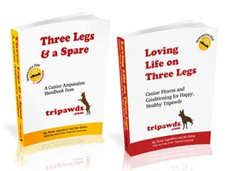 Get Tripawds E-books for fast help!