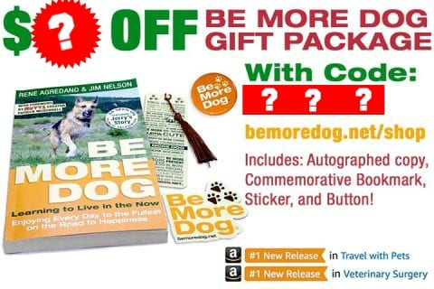 Be More Dog book coupon