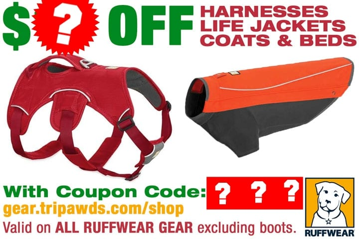 Tripawd dog harness coupon