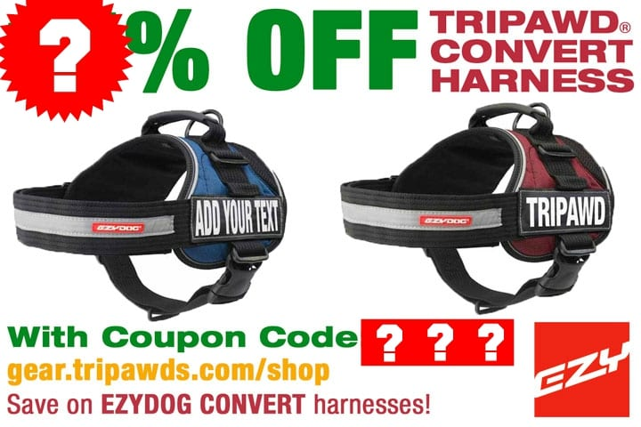 Tripawds support gear coupon