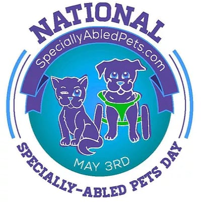 celebrate specially abled pets and Tripawds
