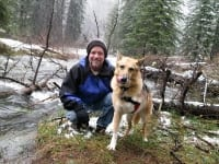 Jim and Jerry at Williams Creek in San Juan National Forest