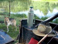 Morning Fishing with Jerry and the Manly Stanley Thermos