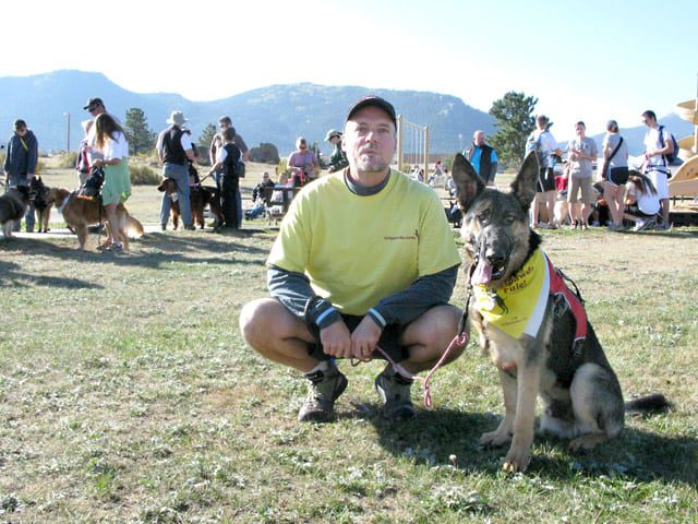 Team Tripawds at K9K Walk Estes Park, CO