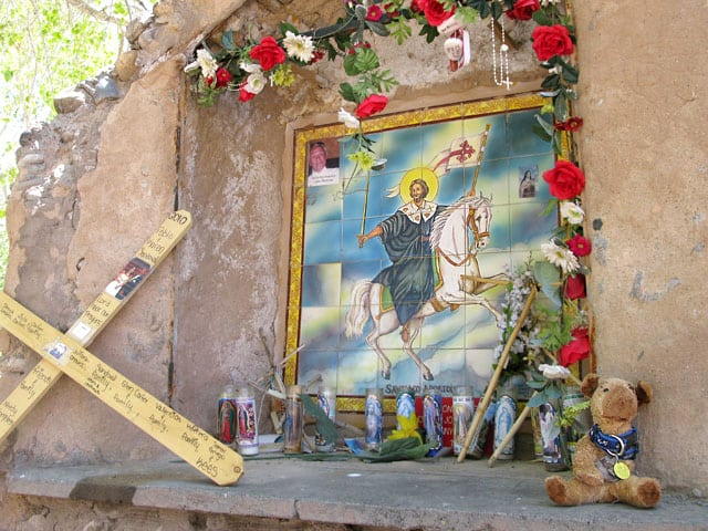 Spirit Jerry returns to el Santuario de Chimayo