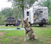 Boondocking at Harstad Park near Eau Claire, WI