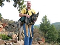 Help Support Large Dog with AST Get A Grip Harness
