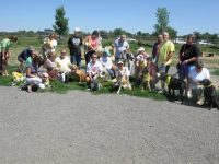 First Tripawds Pawty Longmont, CO Group Photo