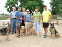 Fort Collins Dog Park Tripawds Party