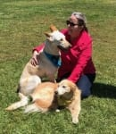 Cindy with Dusty and Shelby